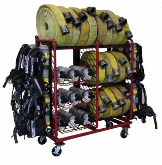 MULTIPLE PURPOSE STORAGE SYSTEM – HOSE:SCBA:CYLINDER CONFIGURATION